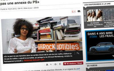 Inrocks : Audrey Pulvar répond aux critiques