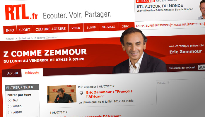 Liberté d'expression : Zemmour sanctionné par le CSA