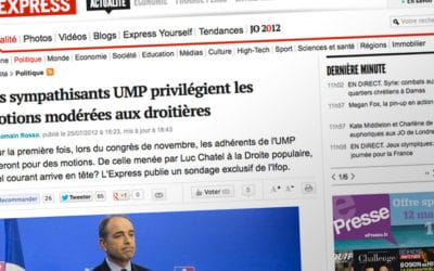 Sondage Ifop-UMP : collusion entre médias et politiques?