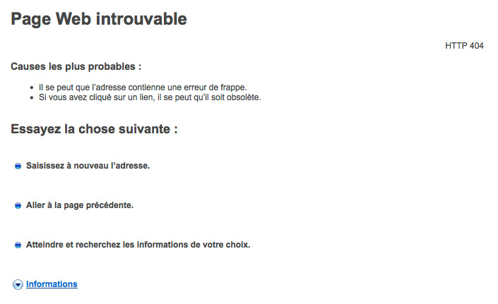 Page web introuvable - TF1