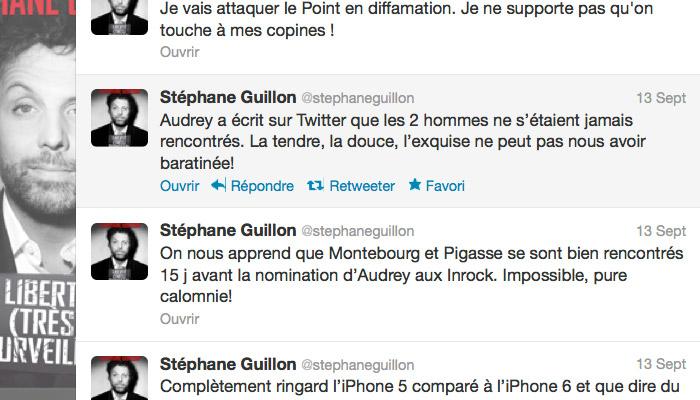 Stéphane Guillon clashe Audrey Puylvar sur Twitter