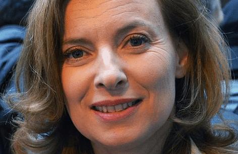 Valérie Trierweiler au Congo