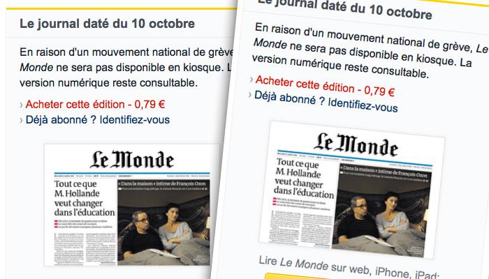 L'histoire de Presstalis qui distribue entre autres les quotidiens nationaux se terminera forcément mal.