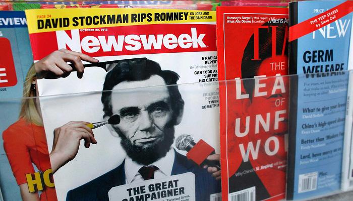 Newsweek arrête son édition papier à la fin de l'année