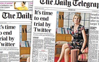 BBC : Twitter dans l'œil du cyclone