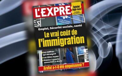 Polémique autour de la une de L'Express