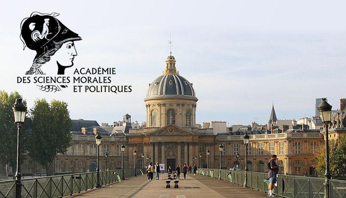 Alain Duhamel à l'Académie des sciences morales et politiques