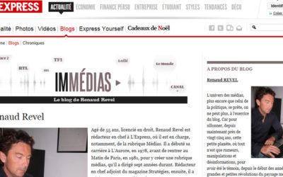 Coup de gueule de Renaud Revel