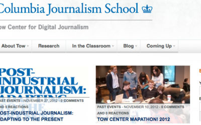 « Un changement de journalisme est inévitable »
