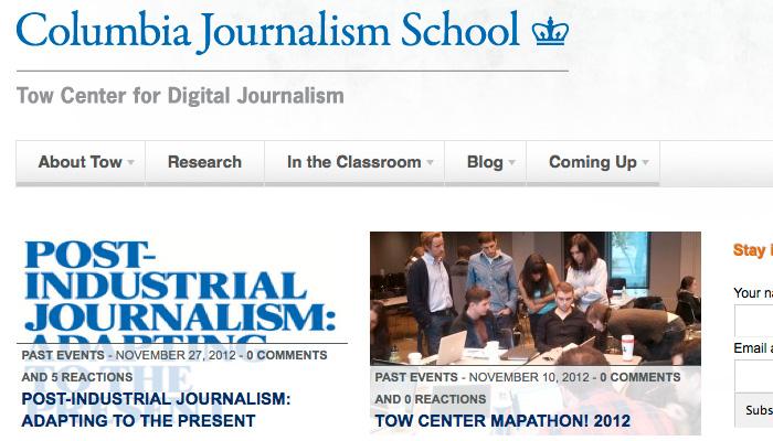 """<span class=""""dquo"""">«</span> Un changement de journalisme est inévitable »"""