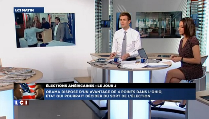 Les États-Unis au cœur de l'information française