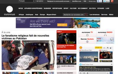 Des collectivités locales dans le capital d'Euronews