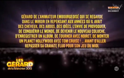 Beau palmarès pour les Gérard de la télévision 2012