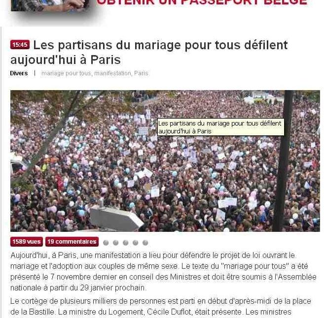 """<span class=""""dquo"""">«</span> Mariage pour tous » : bidouillage de J.-M. Morandini"""