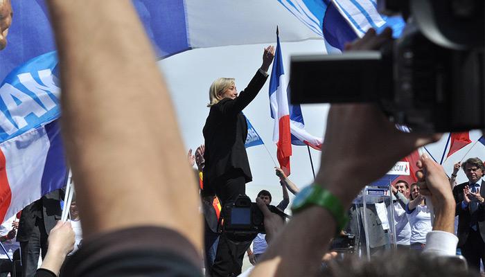 Pas photogénique, Marine Le Pen ?