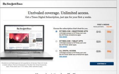 Monétisation des contenus : la presse s'y met