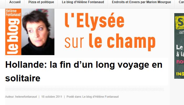 Hélène Fontanaud nommée chef du service presse du PS