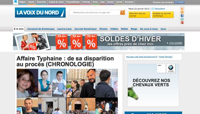 Numérique : La Voix du Nord passe à la vitesse supérieure
