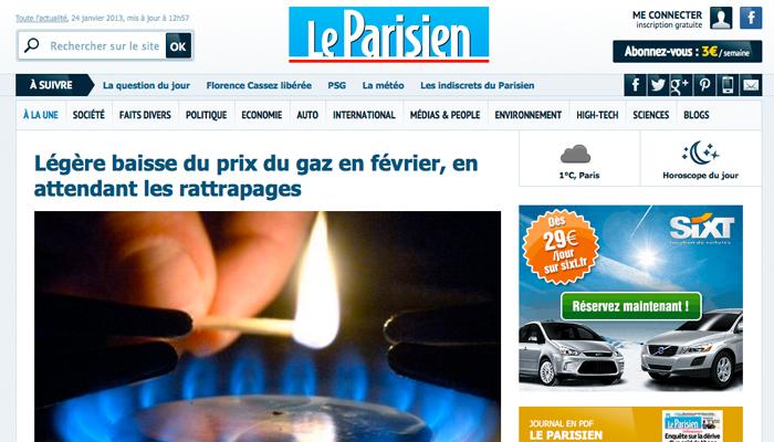 Un nouveau redac'chef au Parisien