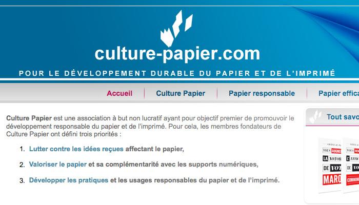 """<span class=""""dquo"""">«</span> Culture papier » fait campagne"""