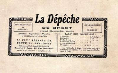 La Dépêche de Brest bientôt entièrement numérisée
