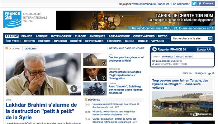 France 24 cherche un créneau horaire sur France Ô
