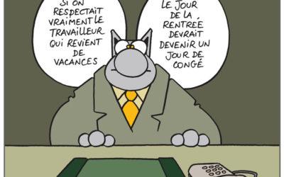 Le « Chat » de Philippe Geluck meurt à 30ans!