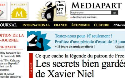 Mediapart enquête sur Xaviel Niel