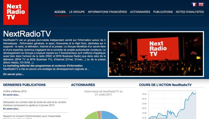 Bourdin omniprésent sur le groupe NextRadioTV