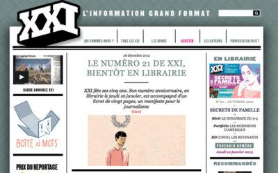 La revue XXI plaide pour un « autre journalisme»