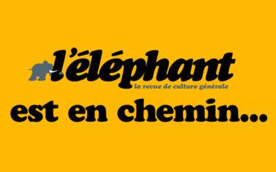 Culture générale : parution de la revue L'Éléphant
