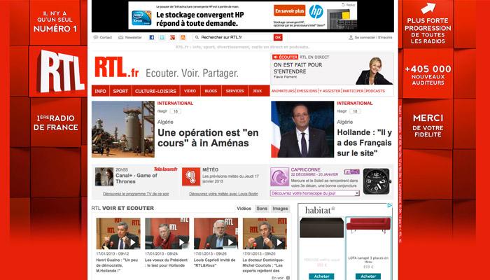 RTL reste la radio la plus écoutée de France