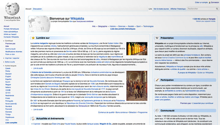 Wikipédia perd 37,5 % de contributeurs en 5 ans