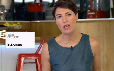 Alessandra Sublet, l'inconnue qui a fait décoller « C à vous »