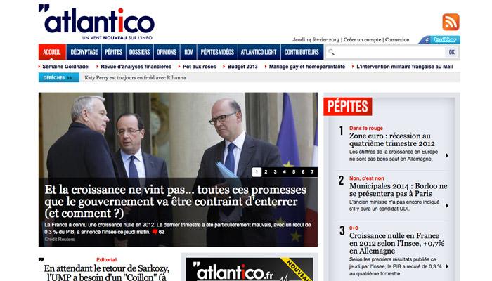 Atlantico va proposer du contenu payant