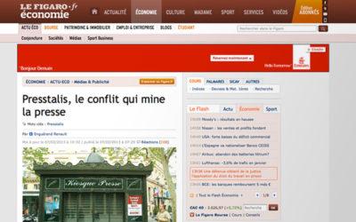 Presstalis : Le Figaro VS la CGT