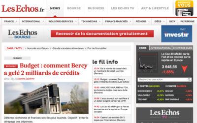 Les Échos devient le journal le plus cher de France