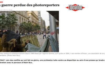 Photojournalisme précaire dans une presse en crise
