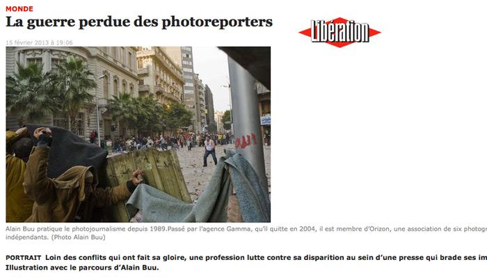 Alain Buu, photojournaliste précaire dans une presse en crise