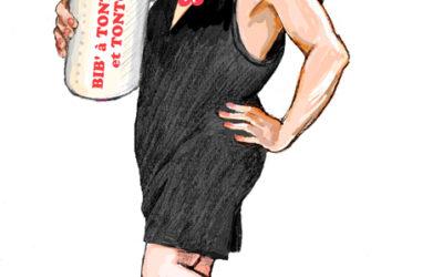 Marie Drucker déshabillée lundi par l'Ojim