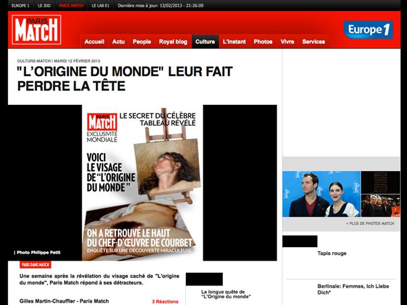 Scoop de Paris Match : encore raté !