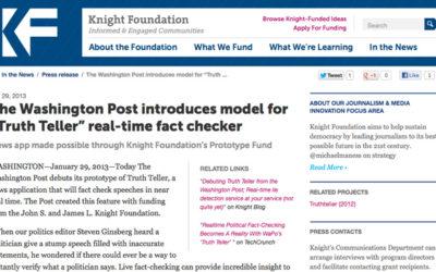Médias : Le détecteur de mensonge du Washington Post