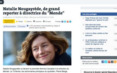 Une nouvelle patronne pour LeMonde