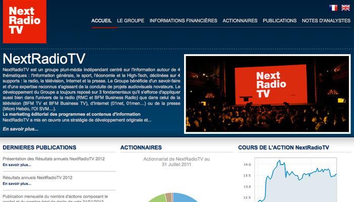 BFMTV devrait devenir le navire amiral de NexRadioTV