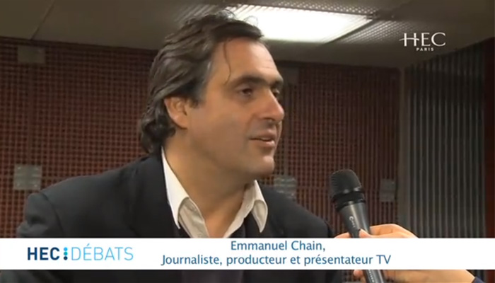 Emmanuel Chain transforme l'info en business