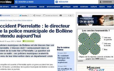 France Bleu Drôme-Ardèche et l'insécurité