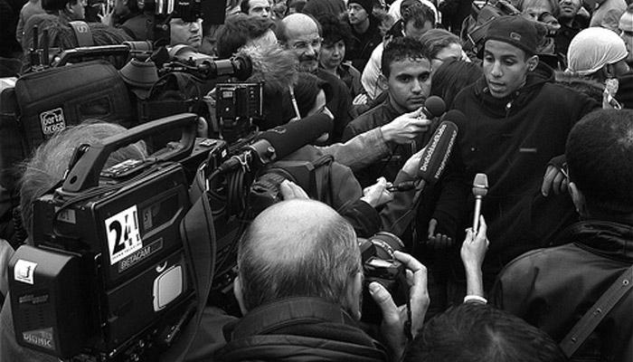 Les journalistes en banlieue décryptés par l'Ojim vendredi