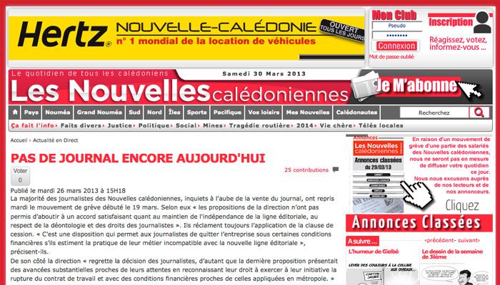Première grève pour Bernard Tapie