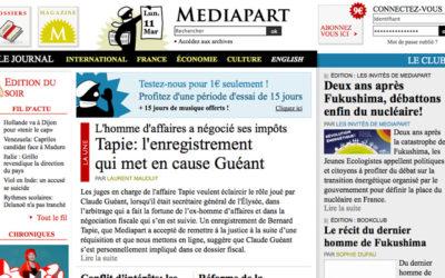 Mediapart lance une nouvelle formule