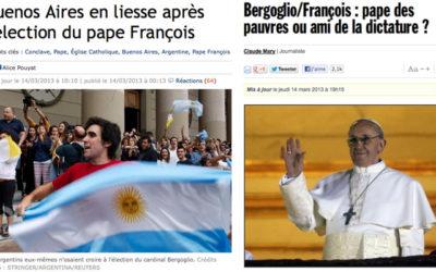 La rue argentine a‑t-elle fêté l'élection du Pape ?